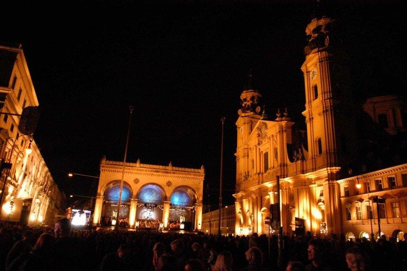 Klassik am Odeonsplatz. (© Foto: BR/Michael Heeg)
