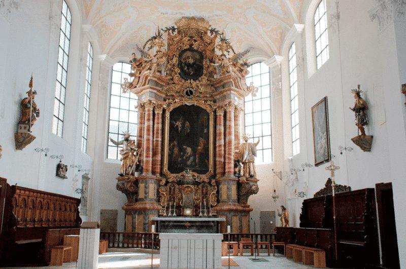 © Foto: ZDF und BR/Pfarrkirche Hilpoltstein