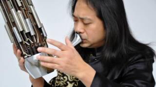 Der Sheng-Spieler Wu Wei