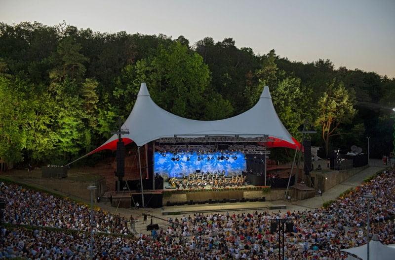 Blick auf die Waldbühne. (© Foto: ZDF und rbb)